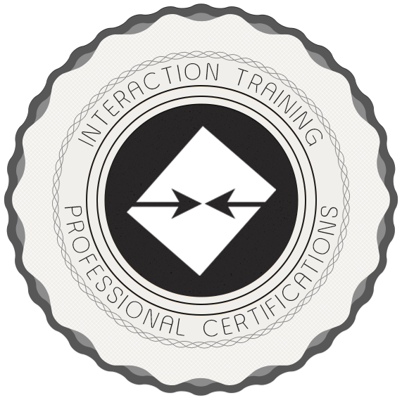InterAction Training Professional Certifications