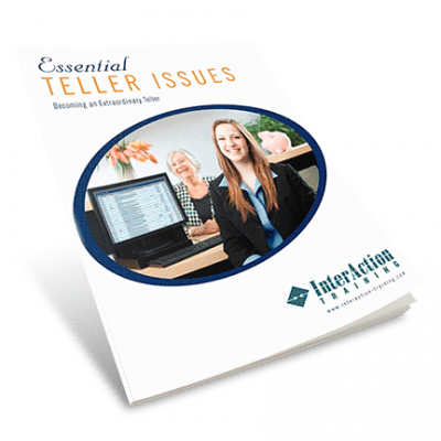 Essential Teller Issues: Teller Training Manual