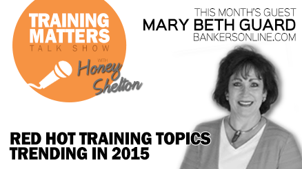 Red Hot Training Topics Trending in 2015