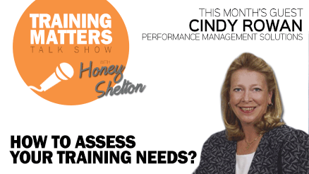 Training Matters - Assessing Training Needs