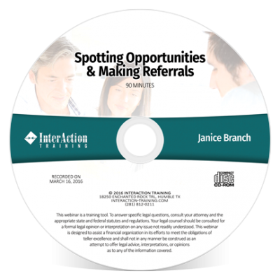 Spotting Opportunities & Making Referrals with Janice Branch