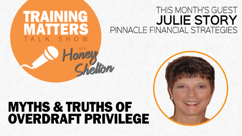 Training Matters episode 18: Myths & Truths of Overdraft Privilege