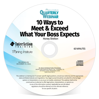 10 Ways to Meet & Exceed What Your Boss Expects