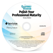 Polish Your Professional Maturity - CD-ROM