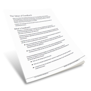 Effective Feedback in the Workplace Whitepaper