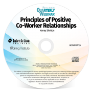 Principles of Positive Co-Worker Relationships CD-ROM
